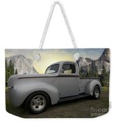 Older Classic Truck Weekender Tote Bag