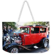 Oldie But Goodie - Classic Antique Car Weekender Tote Bag