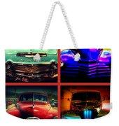Oldtimer Collage Weekender Tote Bag