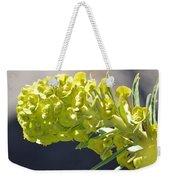 Olive Fluorescence Weekender Tote Bag