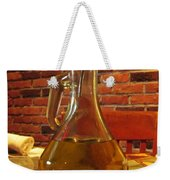 Olive Oil On Table Weekender Tote Bag