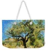 Olive Tree On Van Gogh Manner Weekender Tote Bag