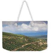 Olive Trees In A Field, Ubeda, Jaen Weekender Tote Bag