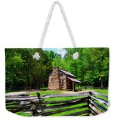 Oliver Cabin 1820s Weekender Tote Bag by David Lee Thompson