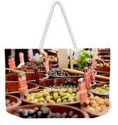 Olives In Barrels Weekender Tote Bag