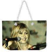 Olivia Newton John Weekender Tote Bag