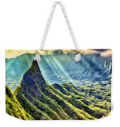 Olomana And The Koolau Range Weekender Tote Bag