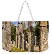 Olympia Ruins Weekender Tote Bag