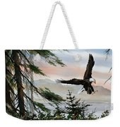 Olympic Coast Eagle Weekender Tote Bag