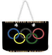 Olympic Spirit Weekender Tote Bag