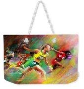 Olympics 100 Metres Hurdles Sally Pearson Weekender Tote Bag
