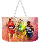 Olympics 10000m Run 01 Weekender Tote Bag