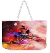 Olympics Heptathlon Hurdles 01 Weekender Tote Bag