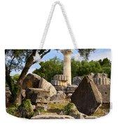 Olympus Ruins Weekender Tote Bag by Brian Jannsen