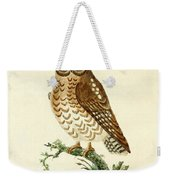 Ominous Owl Weekender Tote Bag