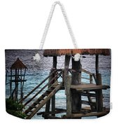 On 2 -ready-hut Hut Weekender Tote Bag