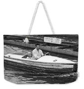 On A Boat Ride At Playland Weekender Tote Bag