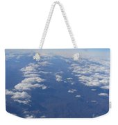 On A Clear Day You Can See Miles Away Weekender Tote Bag