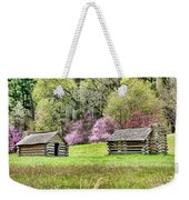 On A Hill At Valley Forge Weekender Tote Bag