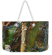 On A Seabed I Rested Weekender Tote Bag
