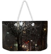 On A Walk In The Snow - Grants Pass Weekender Tote Bag