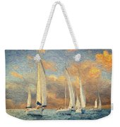 On A Windy Day Weekender Tote Bag