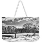 On A Winters Day Weekender Tote Bag