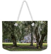 On Destrehan Plantation Weekender Tote Bag