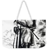 On Duty In Brigadoon  No Ch101 Weekender Tote Bag