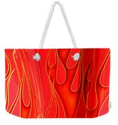 On Fire Weekender Tote Bag