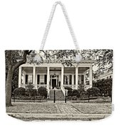 On Guard In New Orleans Sepia Weekender Tote Bag