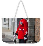 On Guard Quebec City Weekender Tote Bag