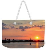 On Lake Maurepas Weekender Tote Bag