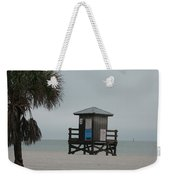 No Lifeguard On Duty Weekender Tote Bag