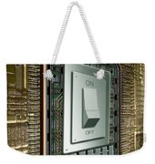 On Off Switch On Circuits Weekender Tote Bag