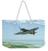 Spitfire On Patrol Weekender Tote Bag