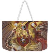 On Sacred Ground Series 4 Weekender Tote Bag by Ricardo Chavez-Mendez