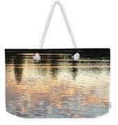 On Shimmering Pond Weekender Tote Bag