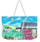 On The Alsace Wine Route Weekender Tote Bag