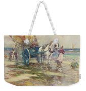 On The Beach  Weekender Tote Bag by Oswald Garside
