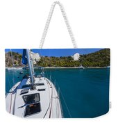 On The Bow Weekender Tote Bag