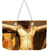 On The Cross Weekender Tote Bag