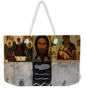 On The Cross Weekender Tote Bag