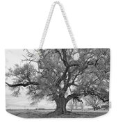 On The Delta Monochrome Weekender Tote Bag by Steve Harrington