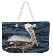 On The Edge - Brown Pelican Weekender Tote Bag