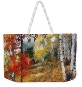 On The Edge Of The Forest Weekender Tote Bag