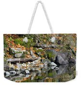 On The Edge Of The Lake Weekender Tote Bag