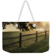 On The Fence Weekender Tote Bag by Bill Wakeley