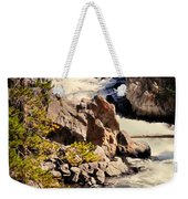 On The Firehole Weekender Tote Bag
