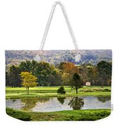 On The Green Weekender Tote Bag